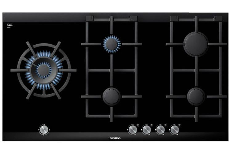 Siemens 60 Cm Gas Cooktop The Gas Cooktop With A Heat Resistant,  Easy To Clean Ceramic Glass Surface.