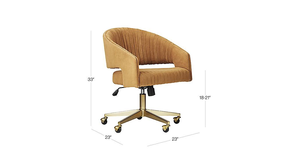 Channel suede office chair reviews cb2 office chair