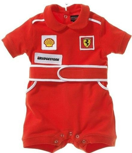 Baby Rompers Racing Suit Red Car Clothes Children Newborn Rompers