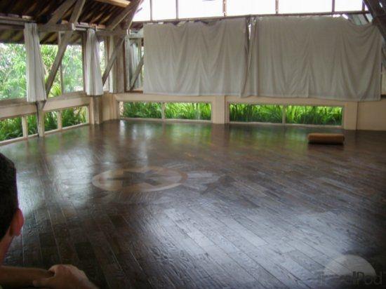 Indoor Outdoor Yoga Room