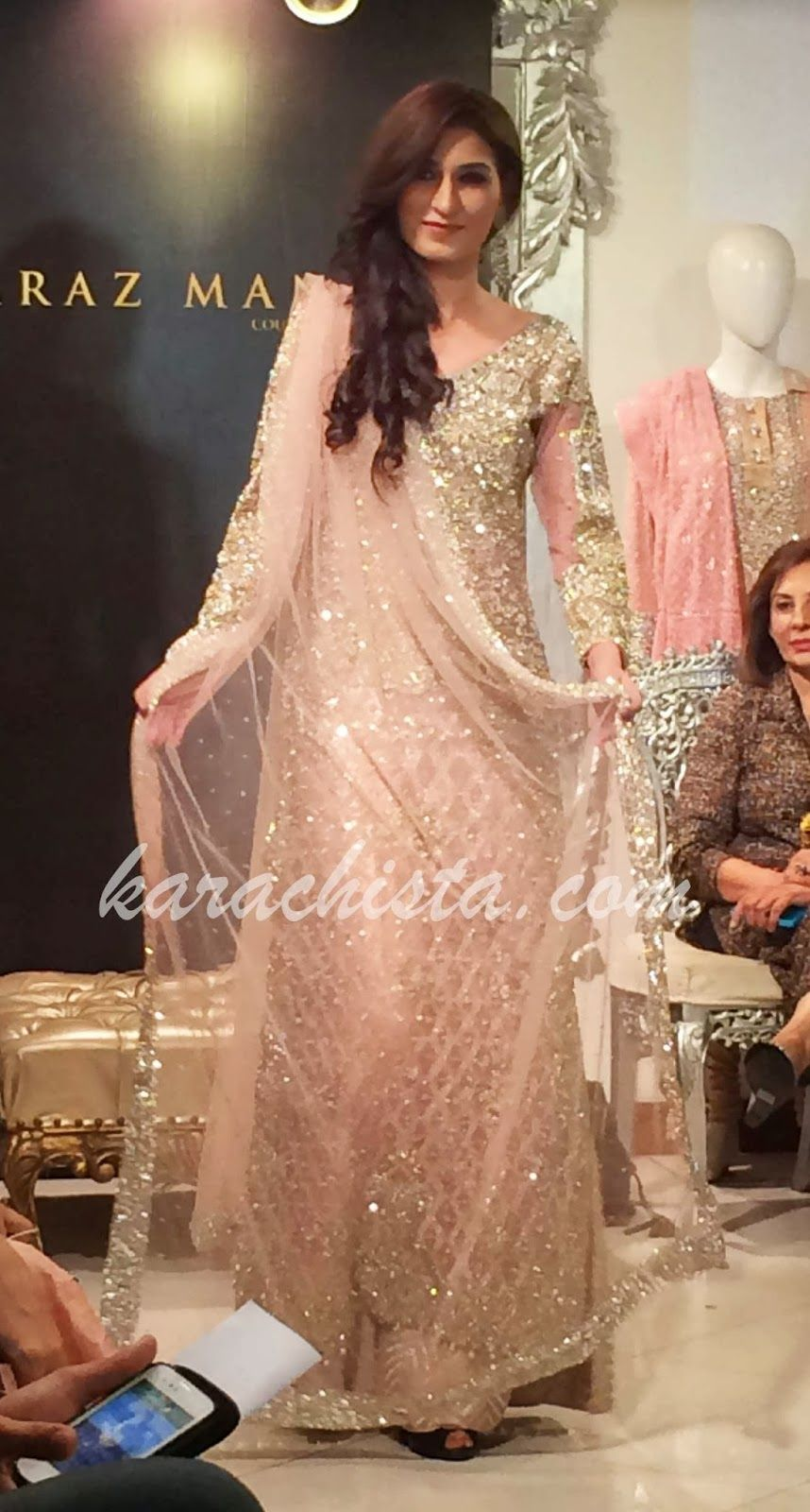 Karachista Faraz Manan Brings His Nawabi Collection To Karachi Indian Bridal Wear Pakistan Fashion Desi Dress
