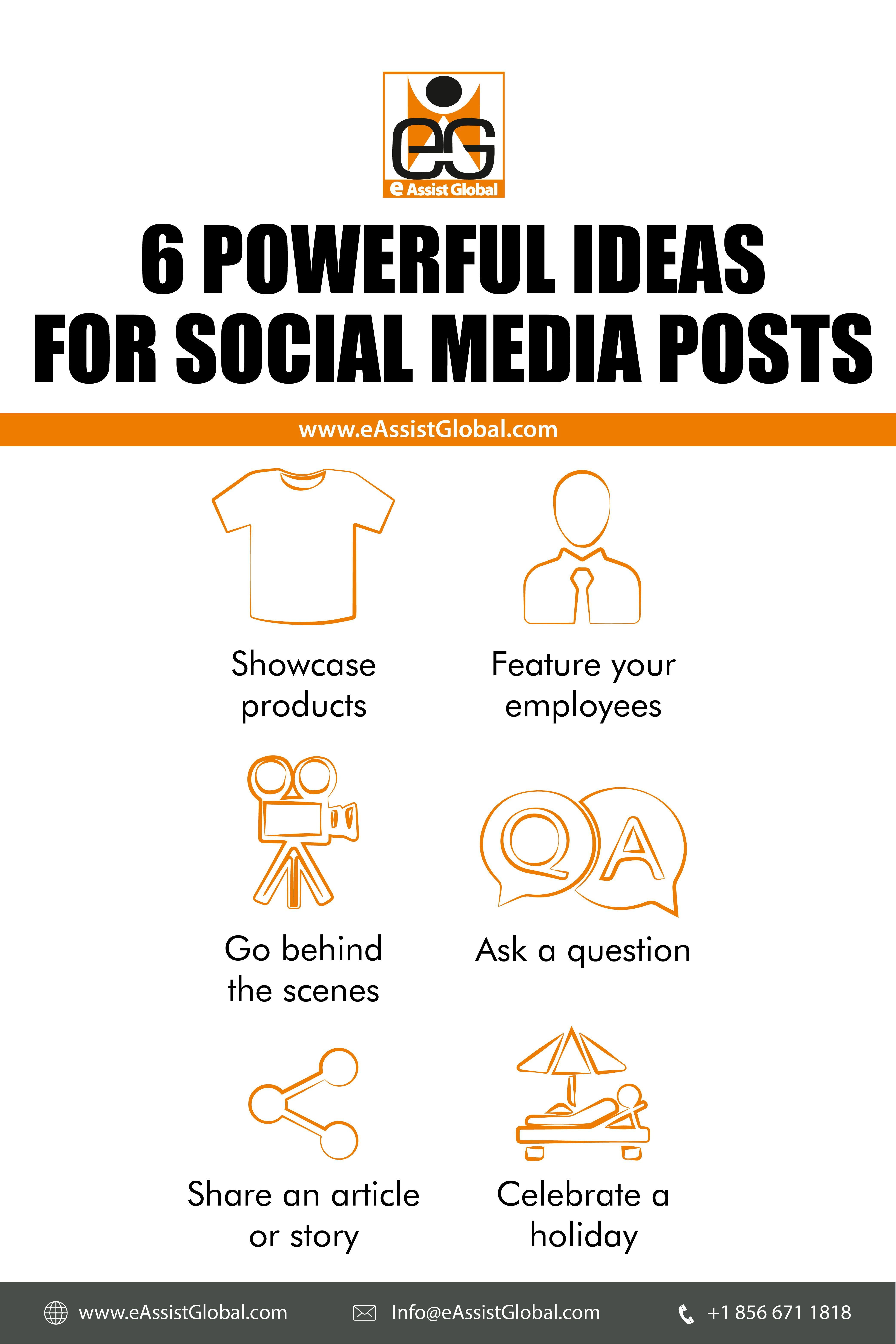 6 Powerful Ideas For Social Media Posts In 2020 Social Media Post Website Content Writing Social Media [ 6251 x 4168 Pixel ]
