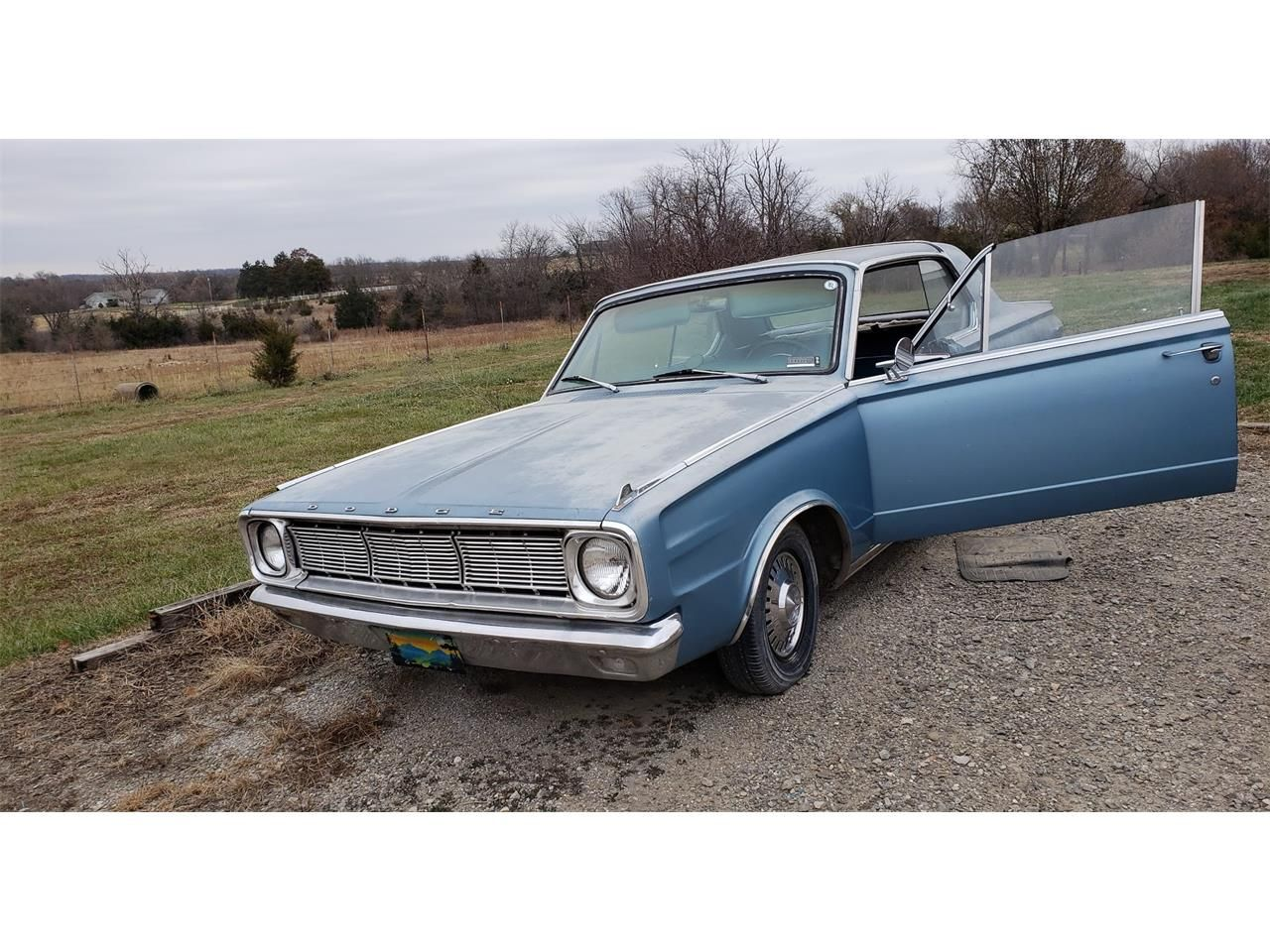 Blue 1966 Dodge Dart Gt For Sale Listing Id Cc 1187954