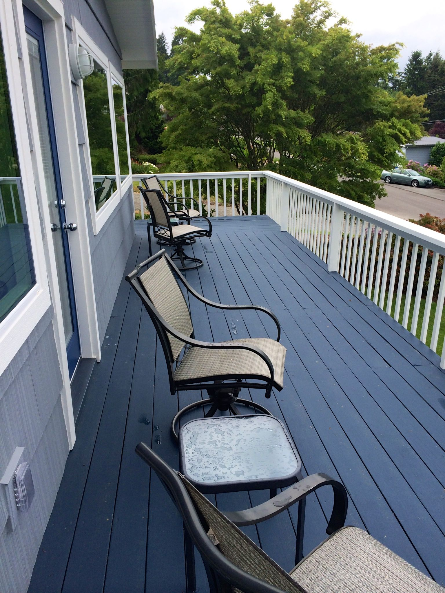 Behr Porch And Patio Paint Quart: After--we Did This Project About A Year And A Half Ago