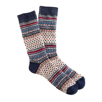 Anonymous Ism Fair Isle socks ($20, with 30% off Code: GIFTNOW ...