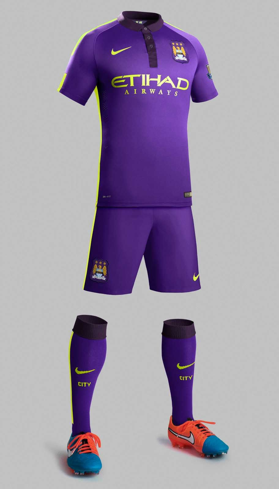 New Manchester City 14 15 Kits Uniformes Futebol Futebol Feminino Camisas De Futebol