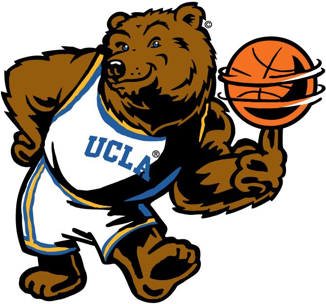 university of california at los angeles ucla bruins mascot logo