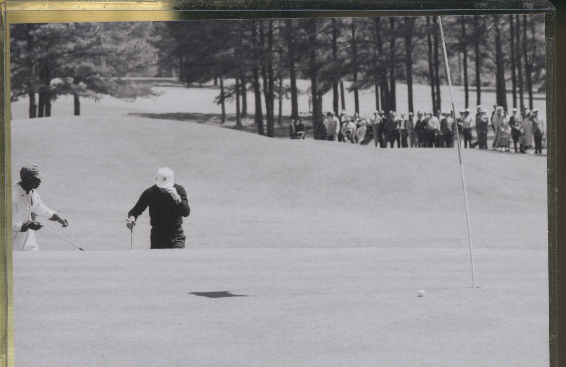Gary player 1961 masters golf tournament original 35mm