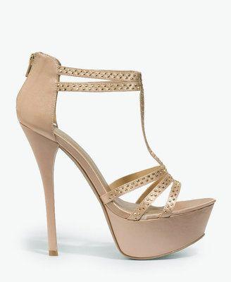 f36f5ffe2981 ShopStyle  Forever 21 Strappy Platform Sandals