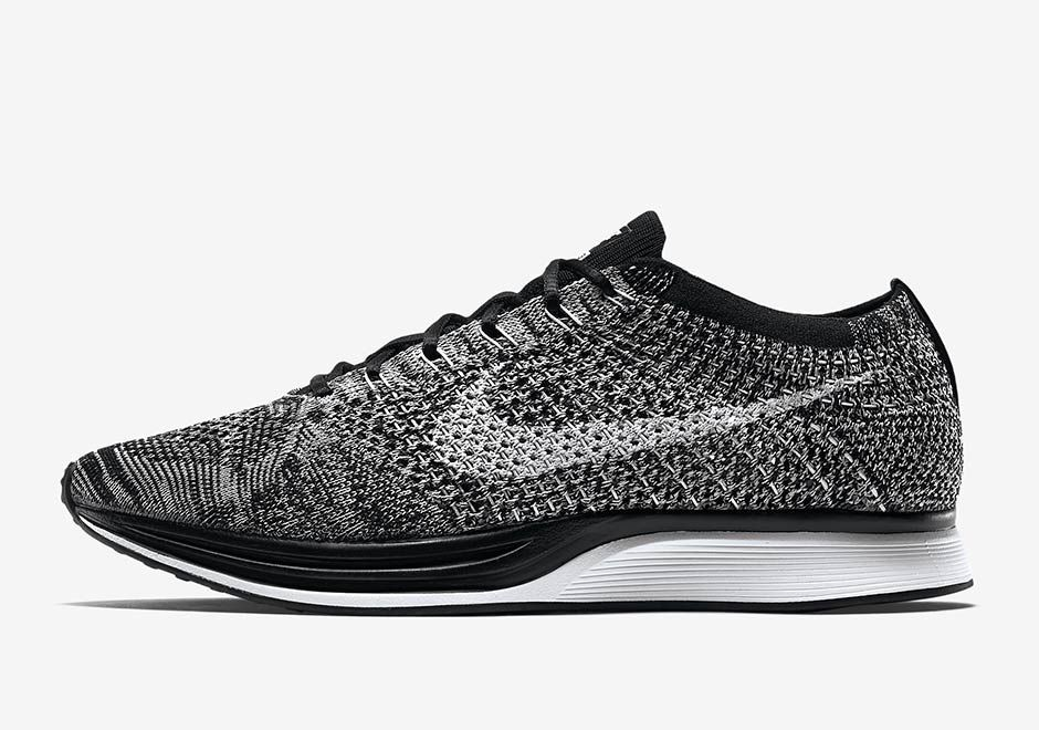 "be6633121b45  sneakers  news Nike Flyknit Racer ""Oreo 2.0"" Restocking In February"