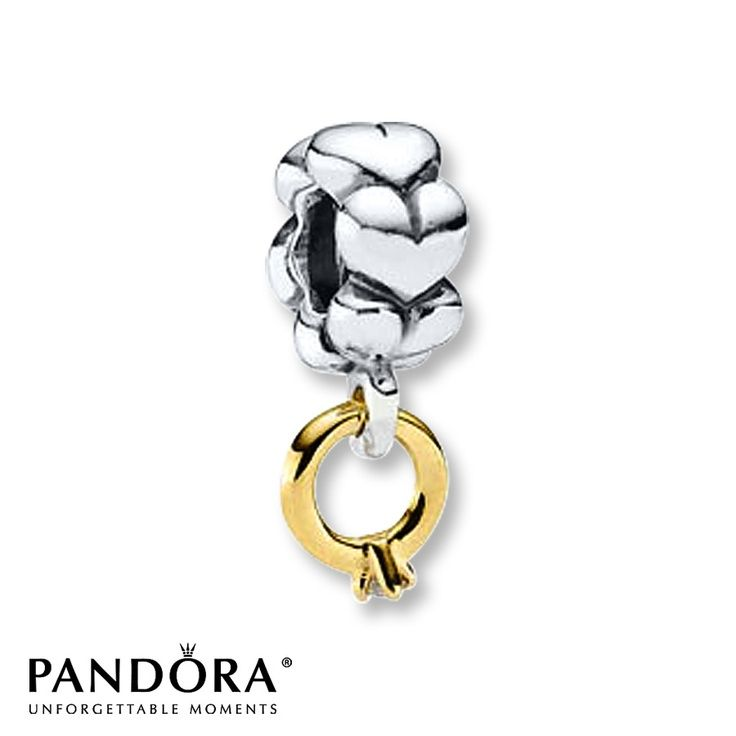 I Want This For My 20 Year Wedding Anniversary Next Yr Pandora Dangle Charm Solitaire Ring Sterling Gold Update Got One What A