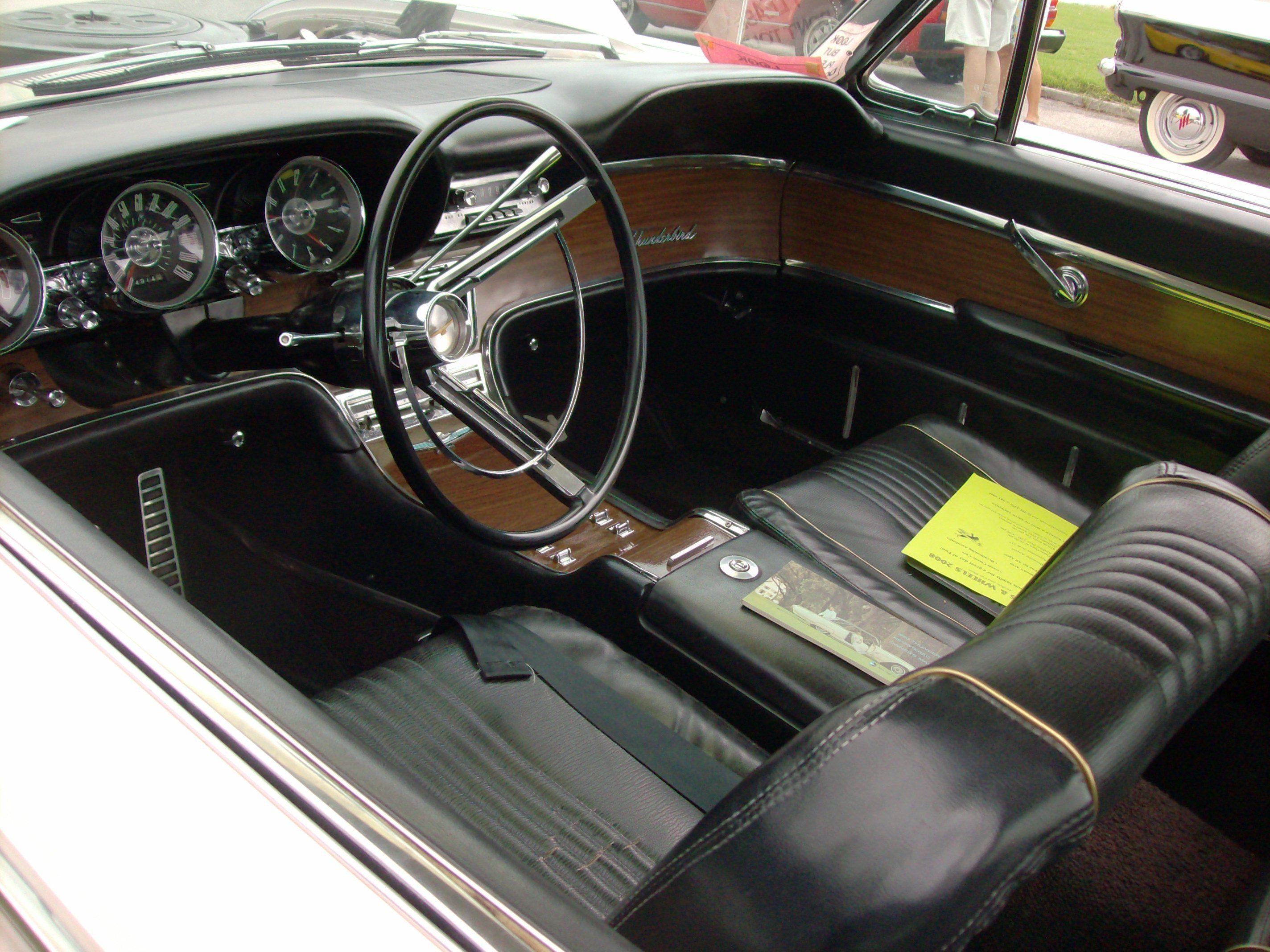 1963 ford thunderbirds