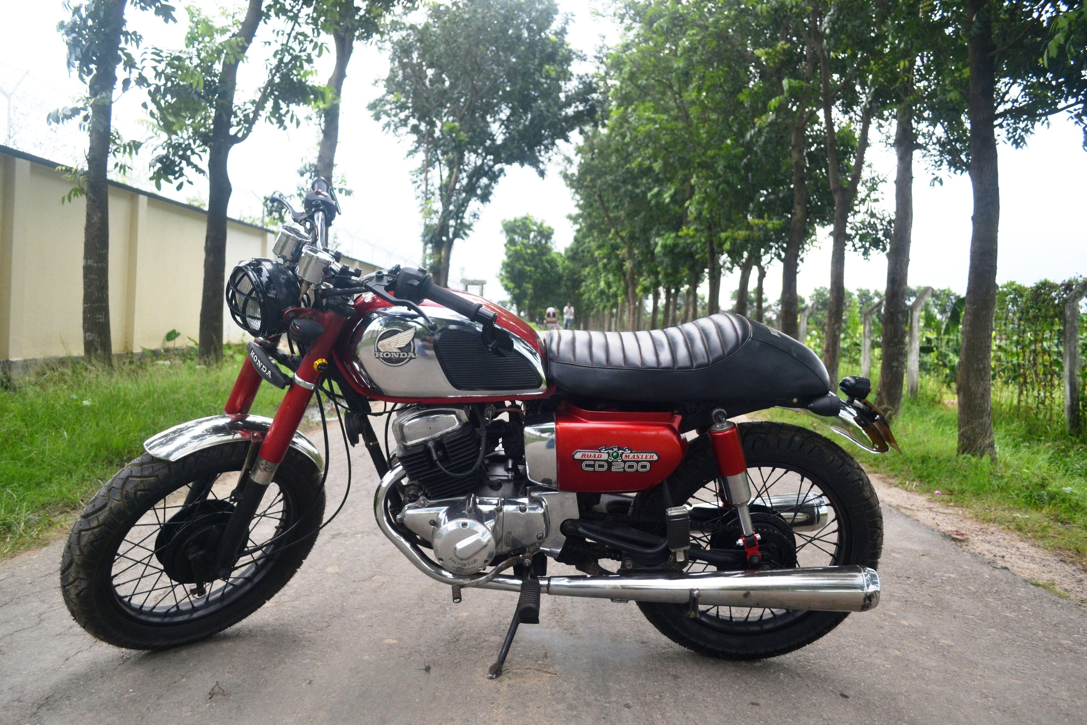 Cafe Racer Motorcycle Bike