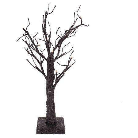 "Halloween Black Lit Tree - 18"""