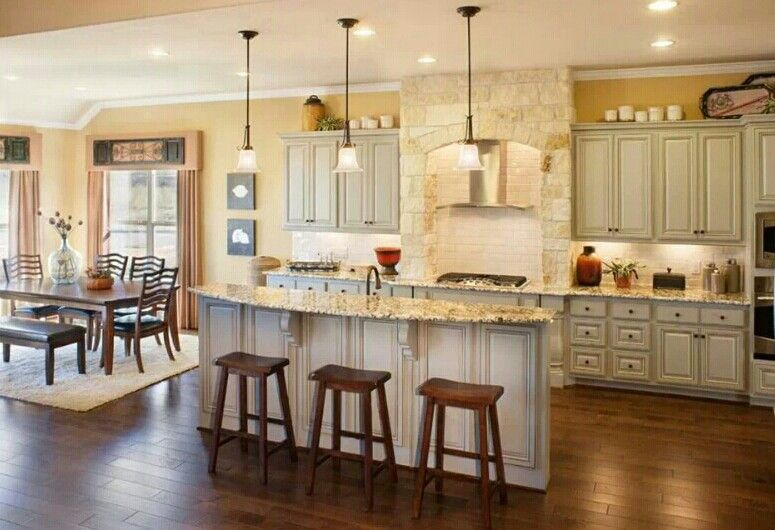 Lennar kitchen | Light kitchen cabinets, Home design decor ...