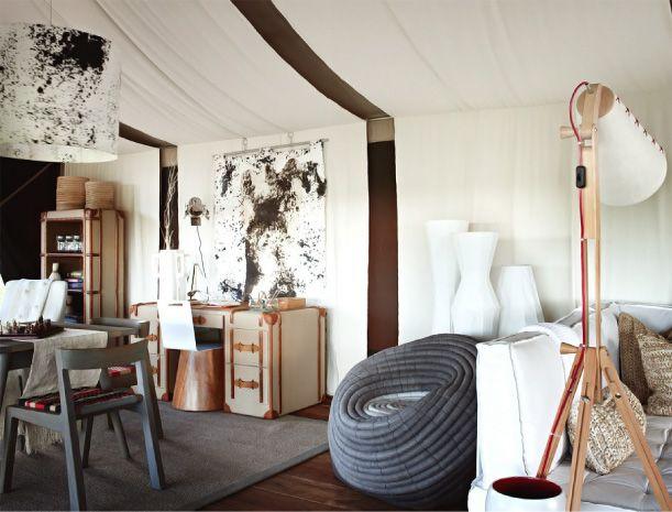 Tanzania Eco Chic | Campeggio in tenda, Resort, Tende