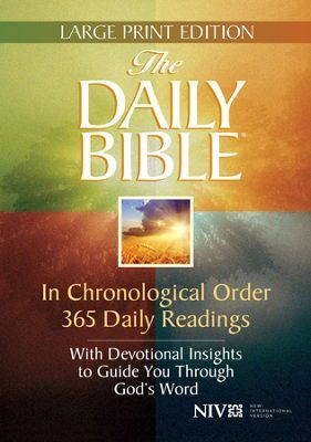 The Niv Daily Bible In Chronological Order 365 Daily Bible Reading Plan Daily Bible Read Bible