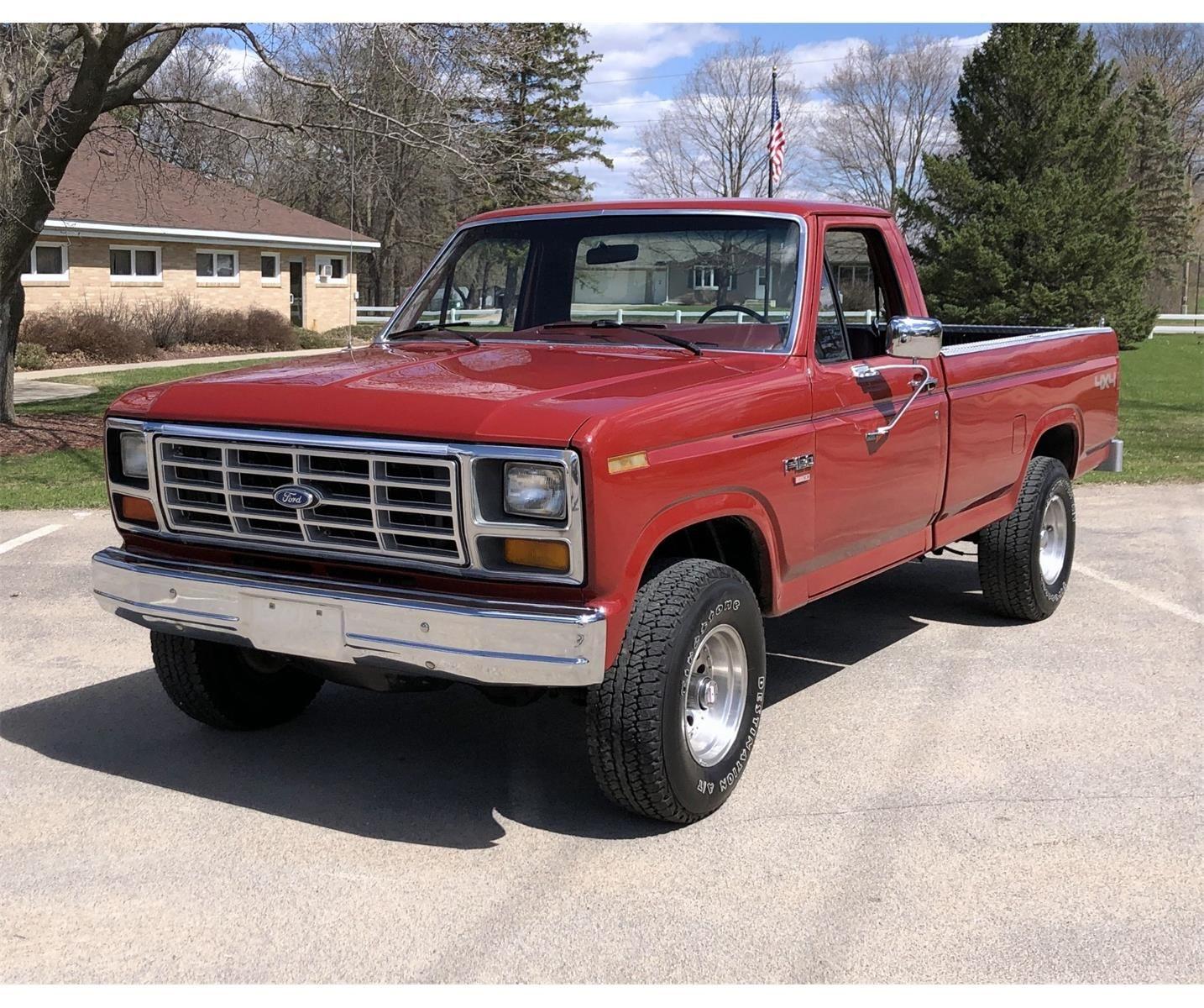 1986 F150 Ford F150 F150 Ford Pickup Trucks