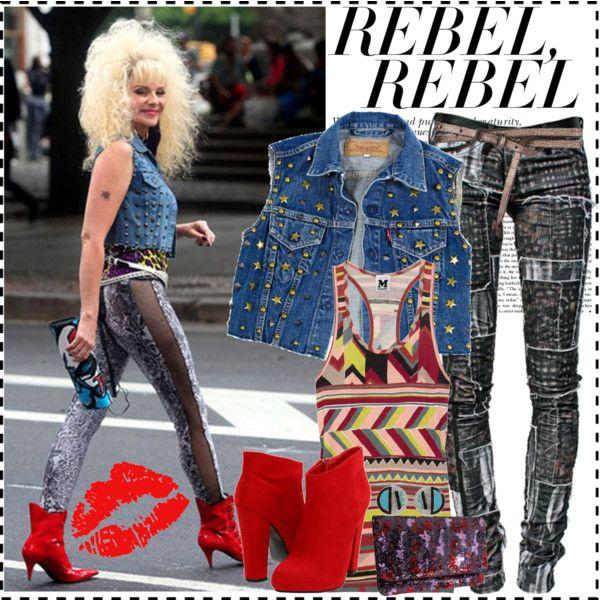 Rocker Costume, 80s Glam Rock