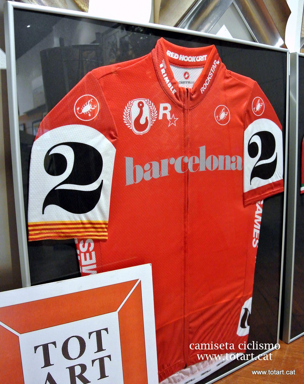 ideas para enmarcar tus camisetas de ciclismo a medida en tienda de ...