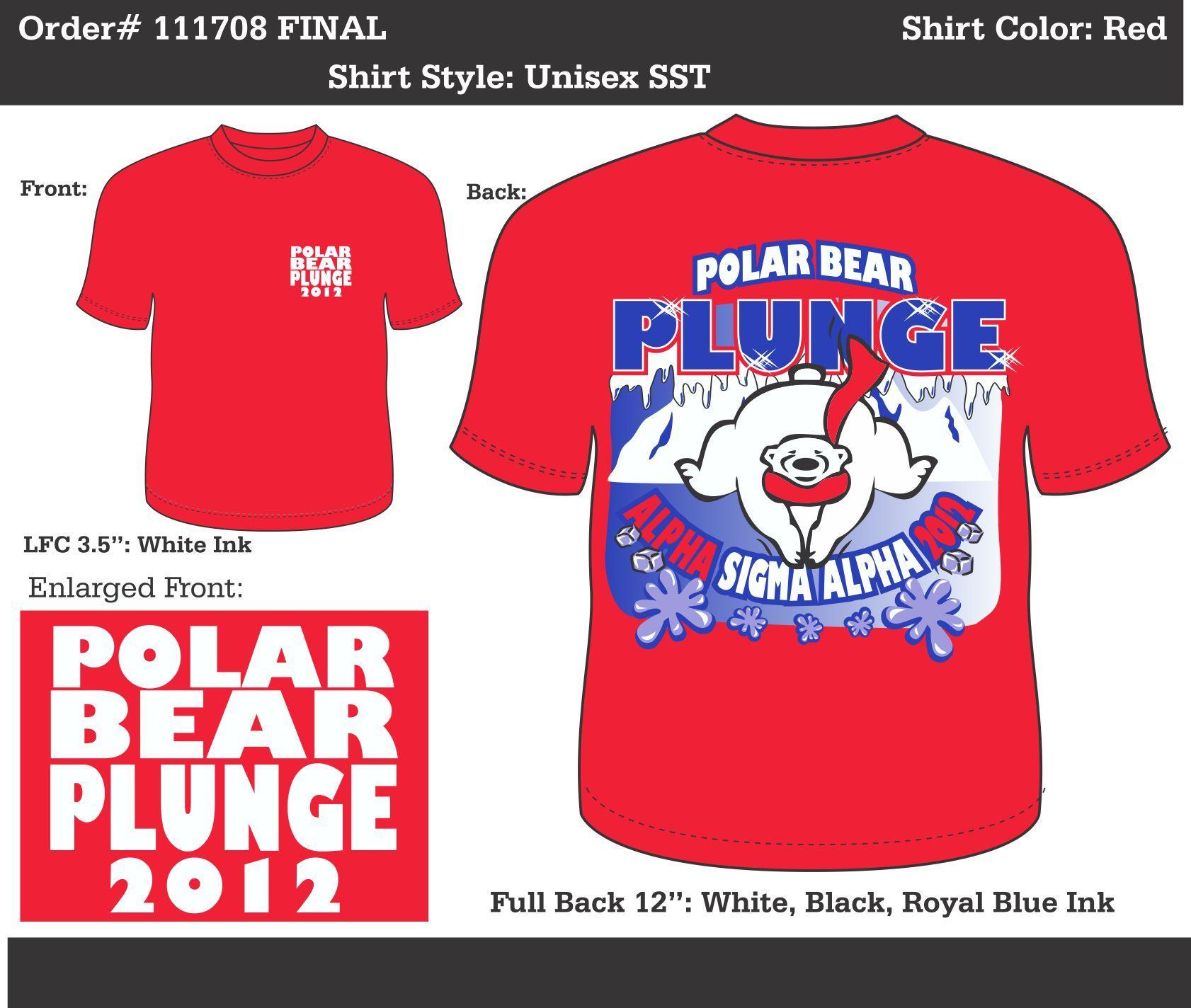 Alpha Sigma Alpha Polar Bear Plunge Http Www Greekt Shirtsthatrock Com Alpha Sigma Alpha Alpha Sig Sigma