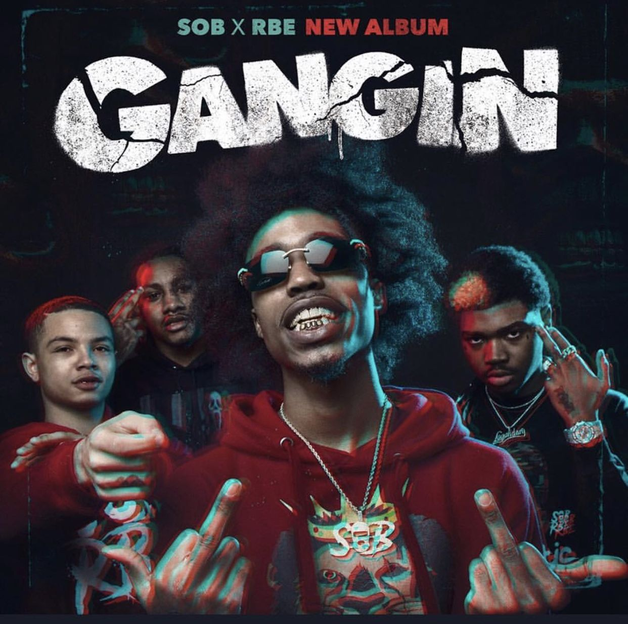 Gangin X Sob X Rbe Rap Wallpaper Album Covers Rappers