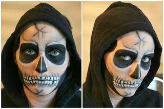 Caras Pintadas De Halloween