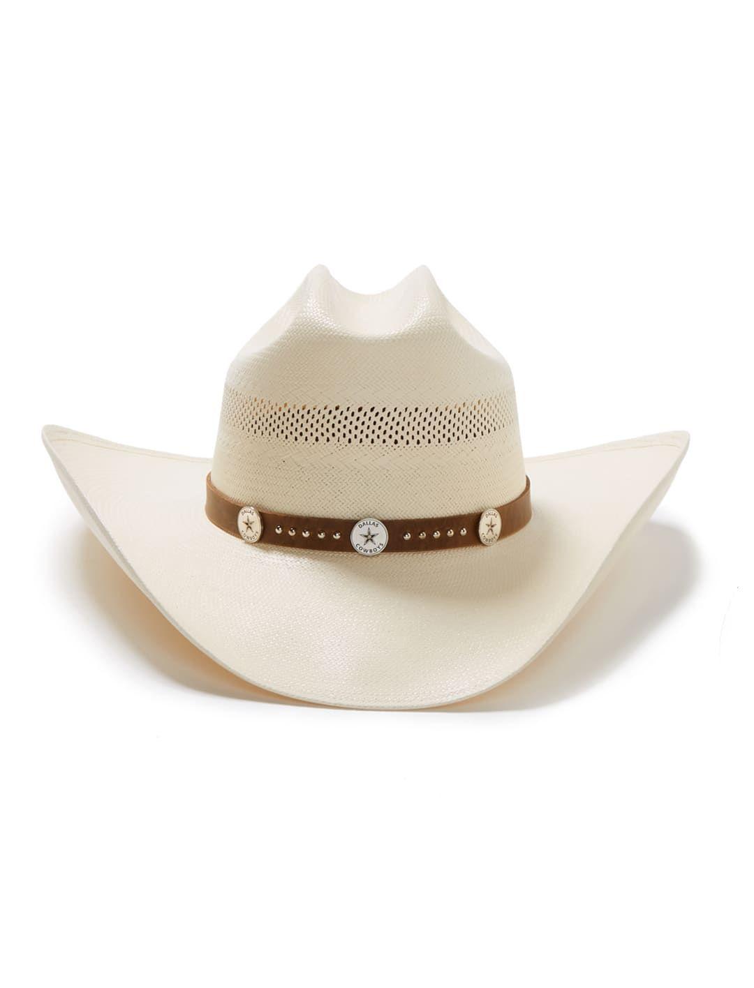 Stetson Dallas Cowboys Trail Rider 10X Straw Cowboy Hat Item SSTRRD-304281 d52f0bd84fff
