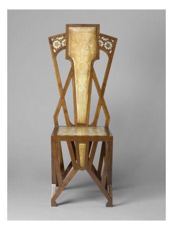 Chaise Giclee Print Allposters Com Art Deco Chair Art Nouveau Furniture Art Deco Furniture
