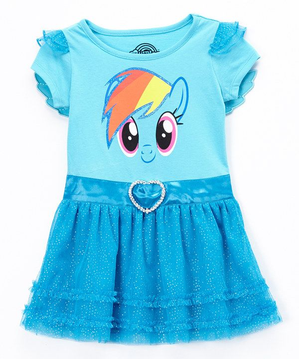 cc77bf211d Look at this Blue Rainbow Dash Tutu Dress - Toddler | My Little Pony ...
