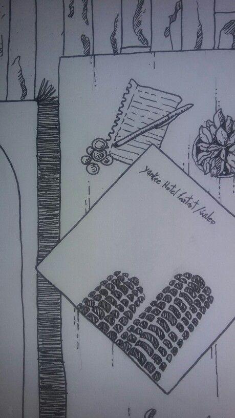Sketchbook. Wilco. Yankee hotel foxtrot