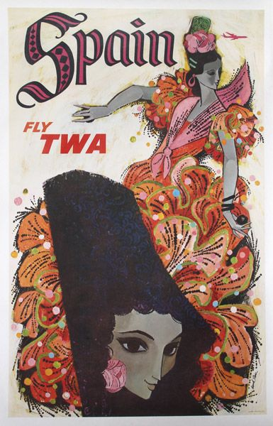 TWA had the best ad campaigns! Google the Paris one too - and Rome was good - and Florida!