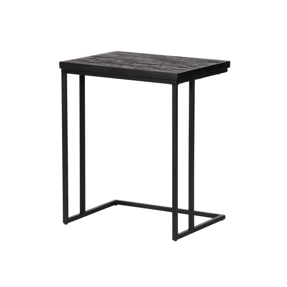 Schwarzer Beistelltisch Mit Holz Milanari Com Beistelltisch Beistelltisch Metall Schwarz Beistelltisch Metall