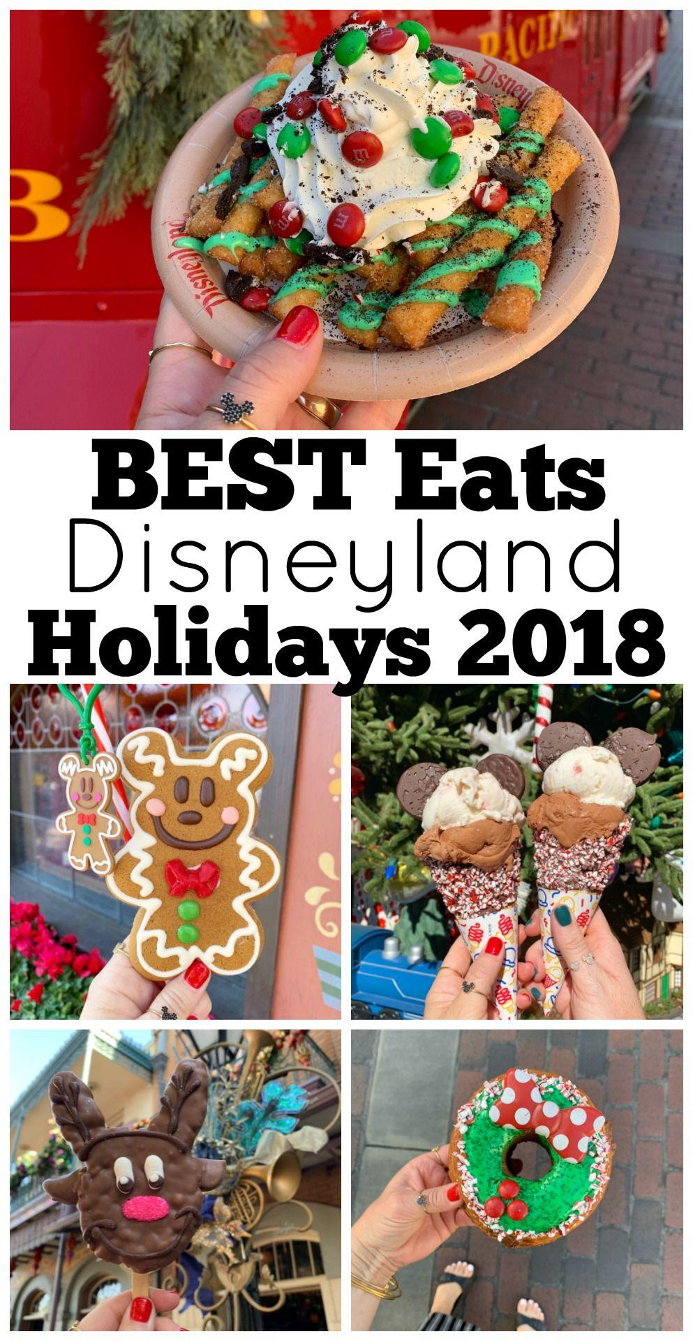 Best Disneyland Food Holidays 2018 #disneylandfood