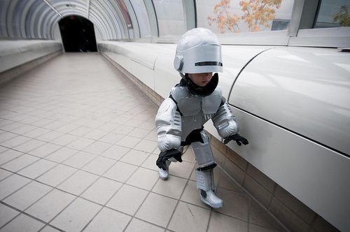 Robocop Kid Funny Costumes Halloween Costumes For Kids