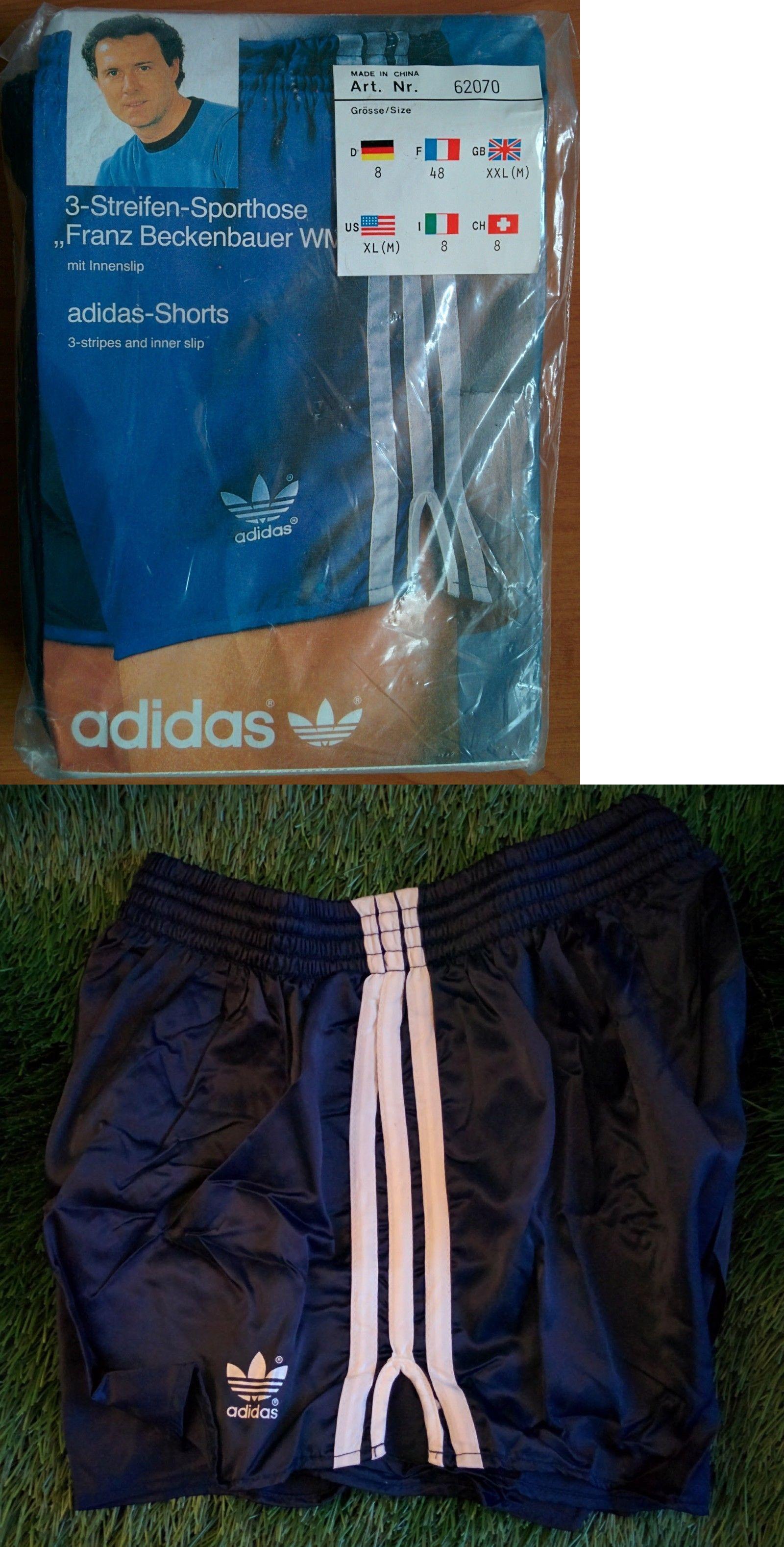 f8043c241 Shorts 175776: New Adidas Vintage Shorts Vinyl Shiny Beckenbauer 1980S Retro  (China) -> BUY IT NOW ONLY: $59.99 on #eBay #shorts #adidas #vintage #vinyl  ...