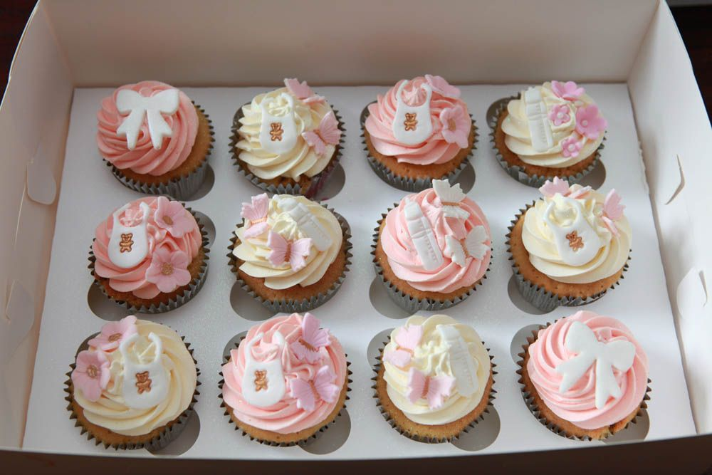 cupcakes for baby shower baby cupcake girl cupcakes cupcake ideas baby