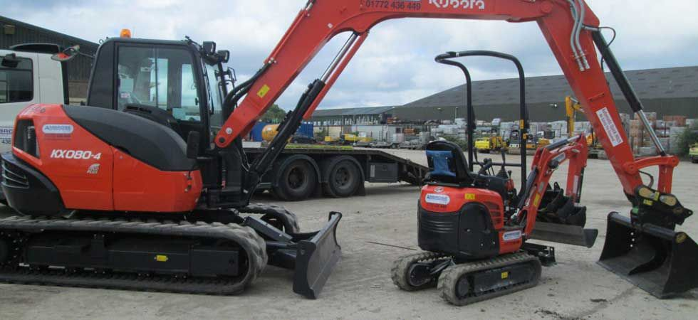 Choosing The Right Excavator For Communal Work