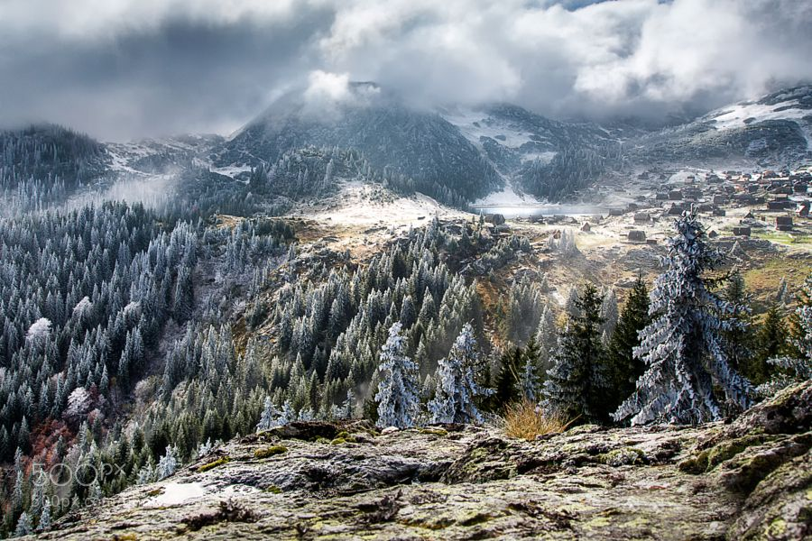 Popular on 500px : Winter Scenery by AdnanBubalo