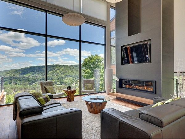 Luxury mountain retreat is not your average log cabin i prefer this view to sea view
