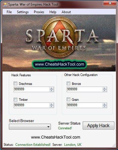 Sparta War Of Empires Cheats Drachmas Bronze Timber Grain Hack
