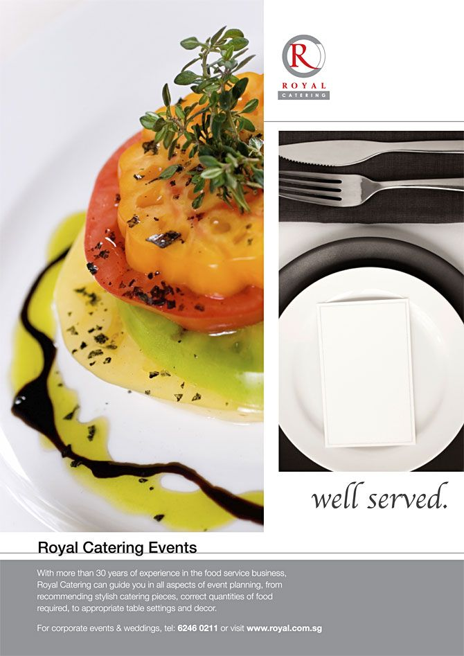 Catering Ad | Ads | Pinterest | Catering
