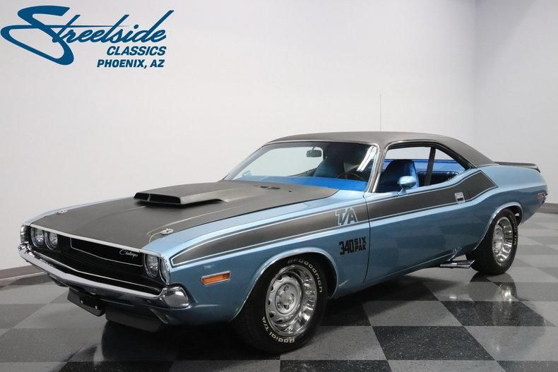 1970 Dodge Challenger T A Six Pack With Images Dodge