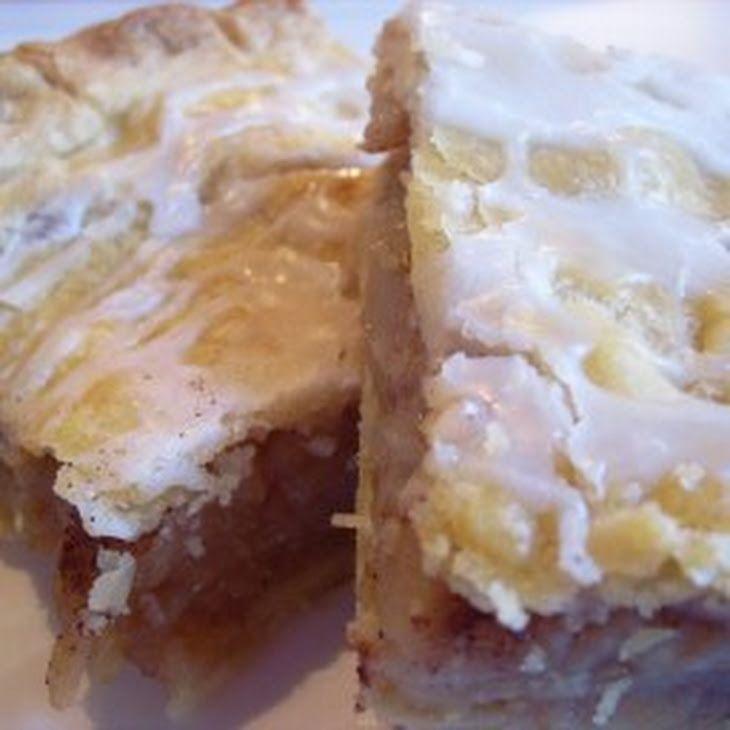 Dutch Apple Slab Pie