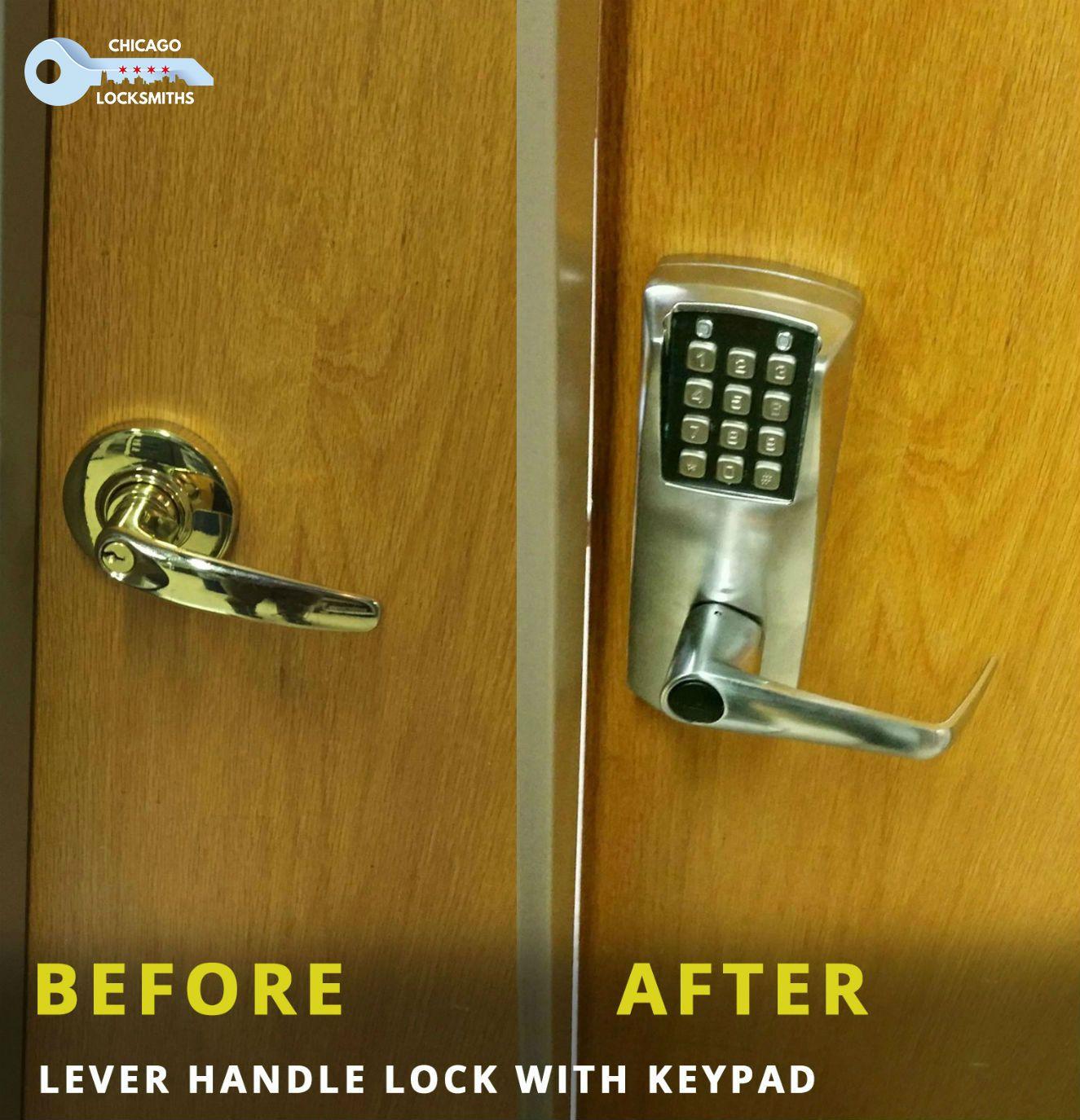 Keypad Lock Installation Done By Chicago Locksmiths Chicago Locksmith 24hourlocksmith Locksmithinchicago Securit Locksmith Locksmith Services Keypad Lock