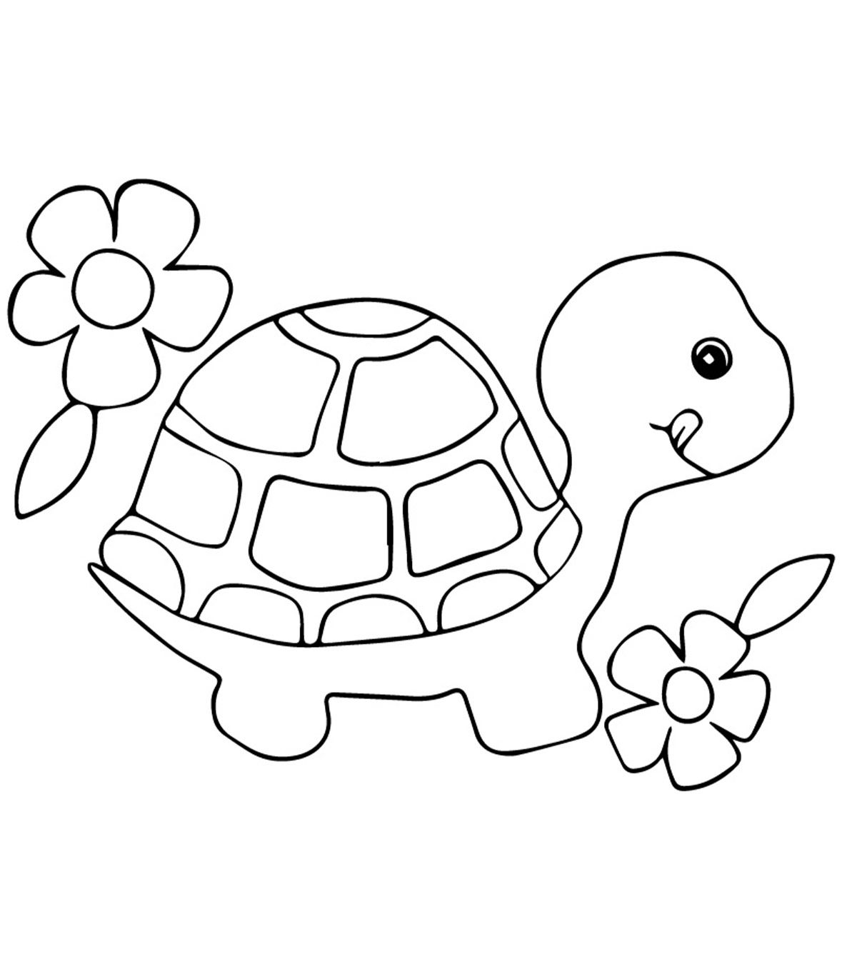 Top 20 Free Printable Turtle Coloring Pages Online Turtle Coloring Pages Cute Coloring Pages Coloring Pages For Kids