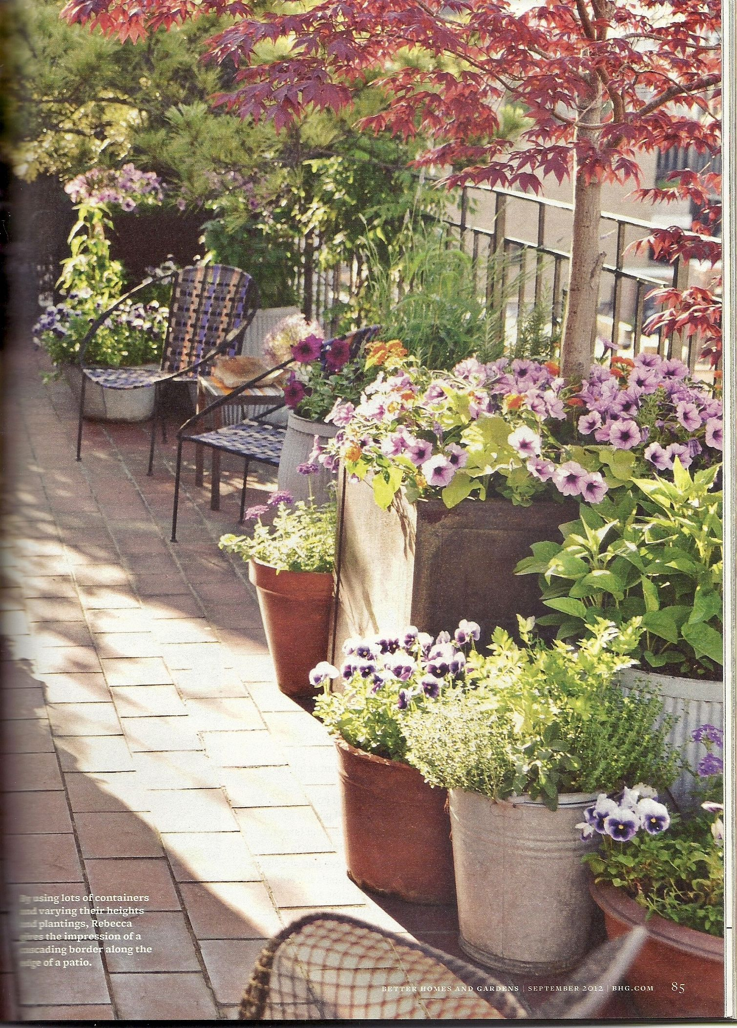 Better Homes And Gardens Magazine Sept 2012 Outdoor 400 x 300