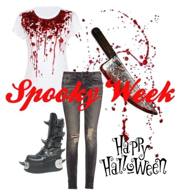 Spooky week! by actual-sinnamonrol on Polyvore featuring polyvore fashion style R13 women's clothing women's fashion women female woman misses juniors