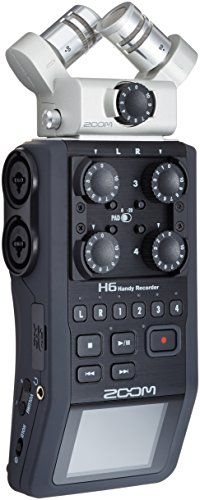 Zoom H6 Six-Track Portable Recorder [Musical Instruments] | Amazon