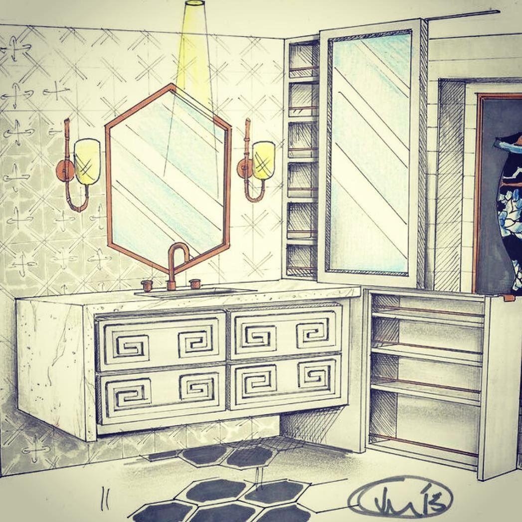 More glamour bath #reinerwhitedesignstudio #reinerwhiterocks #interiordesign #glamourousbathroom #bathdesign by designed2last